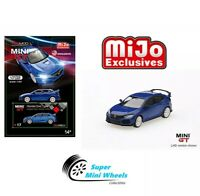 Mini GT 2017 Honda Civic Type R FK8 Modulo LHD (Aegean Blue) 1:64