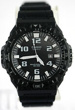 Casio MRW-S300H-1BV Mens Black Tough SOLAR Watch Divers 100M WR Analog New