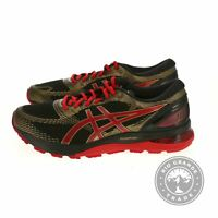 NEW ASICS 1011A257-001 Men's Gel-Nimbus 21 Shoes in Black / Classic Red - 11