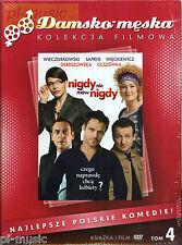 NIGDY NIE MOW NIGDY / DVD sealed [polska komedia ]