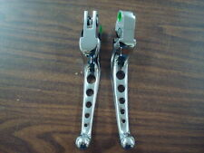 5 HOLE CHROME LEVERS FOR 1996 - PRESENT BIG TWIN & XL SPORTSTER HARLEY DAVIDSON