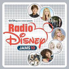 Radio Disney Jams, Vol. 10 by Disney (CD, Jan-2008, Walt Disney)