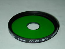 FILTRE 55 mm HOYA  COLOR SPOT GREEN VERT