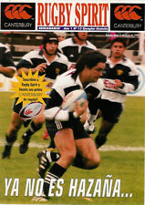 RUGBY SPIRIT No 13 5 Jun 1999 ARGENTINA RUGBY PROGRAMME PUMAS WALES