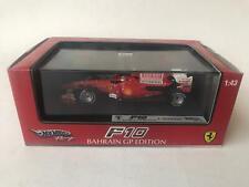 Hot Wheels Ferrari F10 F. Alonso Bahrain GP 2010 1/43 T6289