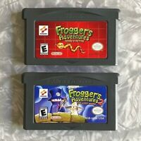 Frogger's Adventures 1 + 2 Nintendo Gameboy Advance Cleaned & TESTED GBA Lot
