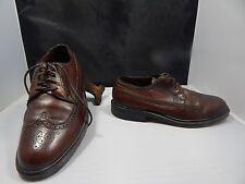 Vintage(?) Men's Freeman Free-Flex Brown Leather Wing Tip Oxfords Size 7.5