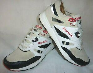 Rare REEBOK Ventilator UK 8 Trainers 152989 Hexalite Suede Sneakers Running Shoe