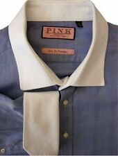 Double Cuff Thomas Pink Big & Tall Formal Shirts for Men