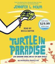 Turtle in Paradise by Jennifer L Holm NEW Unabridged SEALED Audio CD FREE SHIP