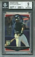 1999 ultimate victory #136 ALFONSO SORIANO yankees rookie BGS 9 (8.5 9 9 9.5)