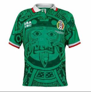 Maillot de foot rétro Mexique 1998 vintage chemise