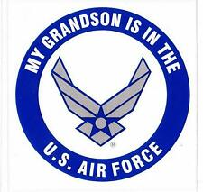 My Grandson is in the Us Air Force Decal