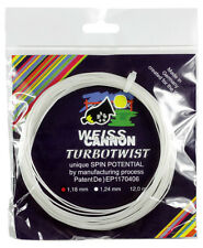 Weiss Cannon Turbo Twist 17 / 1.24mm Tennis String Set