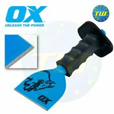 OX commerce 4in brick bolster with guard maçonnerie constructeurs outils 100mm T090504
