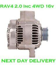 TOYOTA RAV4 2.0 4WD incl. 16V 1994 1995 1996 1997 1998 & GT 2000 NUOVO rmfd ALTERNATORE