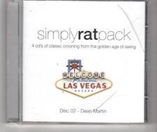 (HN144) Simply Rat Pack, Disc 2 only - Dean Martin - 2006 CD