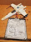 Vintage Kenner Star Wars X Wing Fighter + Luke Skywalker X-Wing Pilot