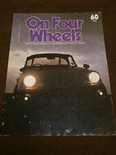 ON FOUR WHEELS # 60 - LINCOLN - ETIENNE LENOIR