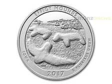 America the Beautiful ATB effigy Mounds iowa 5 Oz plata EE. UU. 2017