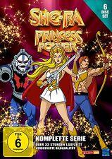-RA PRINCESA OF POWER Shera LA SERIE COMPLETA EPISODIOS 1-93 6 Caja de DVD NUEVO