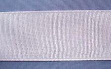 36mm White Grosgrain Ribbon (x 5 metres)