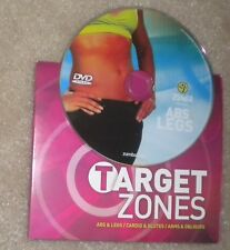 Zumba Fitness Target Zones Abs & Legs Never Used