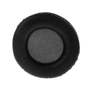 2PCS Universal Headphone Foam Ear Pads Cushion Earpad Soft PU Replacement.