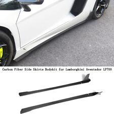 Carbon Fiber Side Skirts Extension Body Kit for Lamborghini Aventador LP700