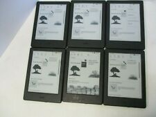 6-Amazon Kindle Model SY69JL Black Tablets Only