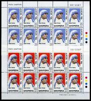Albanien Kleinbogensatz MiNr. 2589-90 postfrisch MNH Cept 1996 (CB460