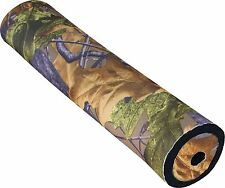 "English Oak Camo Neoprene Cloth Cover for 2"" Rifle Sound Moderator Silencer"