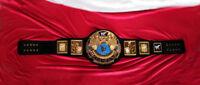 WWF Big Eagle Attitude New Era Championship Belt 4mm Black Premium