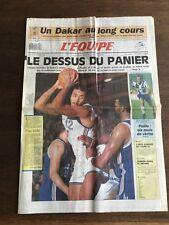 Journal l'Equipe - 6 Decembre 1990 - 45 eme année - n 13868