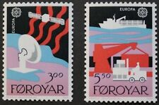Europa, Transport and communications stamps, 1988, Faroe Islands, Ref:161 & 162
