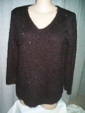 Acrylic Scoop Neck Plus Size Jumpers & Cardigans for Women