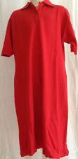 Kurzarm Damenkleider mit Polokragen aus Baumwolle