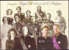 Belgium**ROYALTY DYNASTY 175 YEARS-SHEET-BELGIAN KINGS & QUEENS-Rois-koningen