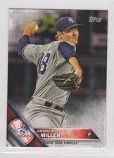 Andrew Miller (#218) 2016 Topps platinum serial MINI card 1/1 Yankees Indians