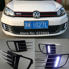 Exact Fit VW Golf 6 GTI 2010-2014 LED DRL Driving Daytime Running Day Fog Lamp