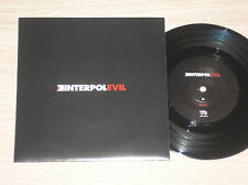 """INTERPOL - EVIL / LEIF ERIKSON - 45 GIRI 7"""" UK"""