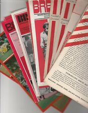 Brentford Home Programmes 1967 onwards