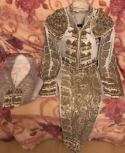 bullfighting suit of lights vintage bullfighter halloween costume Fermin Spain