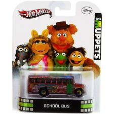 New Hot Wheels 1:64 Scale Retro Car Models - Muppets School Bus