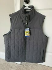 **NWT** Orvis Quilted Vest, Gray, Men's Size Large