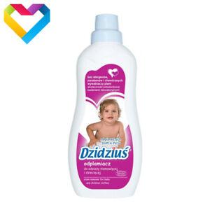 DZIDZIUS / BABY - HYPOALLERGENIC STAIN REMOVER FOR BABY CLOTHES - 750ml