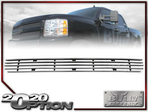 BULLY HORIZONTAL BILLET BUMPER GRILLE INSERT FOR FORD 99-03 F150 F250 SUPER DUTY