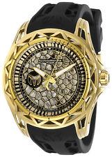 TechnoMarine Men's Technocell TM-318042 44mm Black Dial Silicone Watch