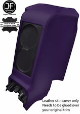PURPLE REAR CENTRE SUBWOOFER PANEL REAL LEATHER COVER FITS GT-R R35 2009-2017