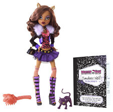 Monster High Clawdeen Wolf ORIGINAL FAVORITES Sammlerpuppe SELTEN BBC66